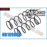 HB Ressort d'amortos AVT 1/8TT Blue HB817 - HB109808