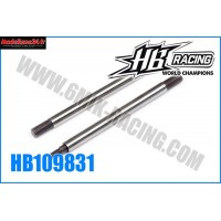 HB Tiges d'amortisseur avt 29mm HB 817  HB817 - HB109831