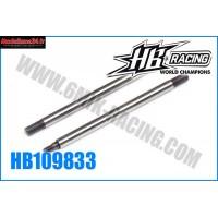 HB Tiges d'amortisseur arr 38mm HB 817 - HB109833