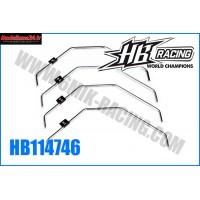 HB Barre anti-roulis AVT HB 817 (2/2,2/2,4/2,6mm) - HB114746