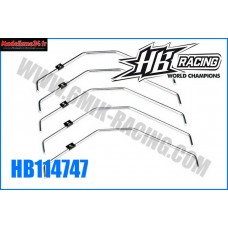 HB Barre anti-roulis ARR HB 817 (2,2/2,4/2,6/2,8/3mm) - HB114747