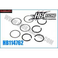 HB Clips et rondelles de couple conique HB 817 (4+4) - HB114762