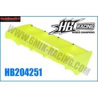 Aileron jaune fluo 1/8 type HB : HB204251