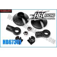 HB chapes et coupelles d'amortisseurs HB817 - HB67351