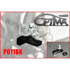 Support de carrosserie arrère OPTIMA sur silent-bloc NOIR - PO11BK