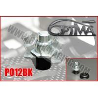 Support de carrosserie avant OPTIMA sur silent-bloc NOIR - PO12BK