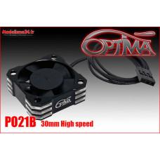 Ventilateur haute vitesse - 30mm noir : PO21B