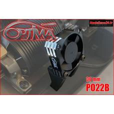 Ventilateur moteur universel 30mm (noir avec support) : PO22B