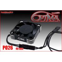 Ventilateur haute vitesse - 40mm noir : PO26