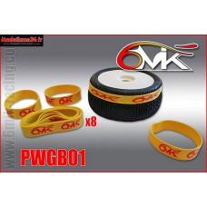 Elastiques de collage de roues 6Mik (8) - PWGB01