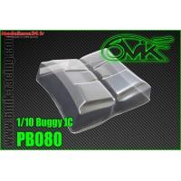 Ailerons lexan 1/10 Buggy JC  (2PCS) - 6MIK PB080