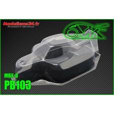 """Carrosserie pour Mugen MBX8 """"JC"""" S15 - 6mik : PB103"""