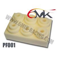 Mousses de Filtre à air 6MIK Standard Blanche Haute Qualité (6 pcs) - PF001