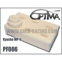 Mousses de filtre à air 6MIK blanche (6 pcs) pour Kyosho MP9 - PF006