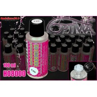 Huile silicone OPTIMA haute performance - 8000 cps (100ml) - H08000