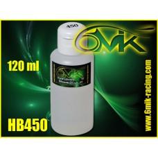 Huile silicone 6mik grade 450 ( 120ml ) - HB450