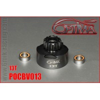 OPTIMA Cloche d'Embrayage 13 Dents Ventilée + 2 Rlt Étanches - POCBV013