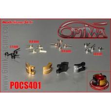 OPTIMA Masselottes Alu 4 Pts avec Ressorts (20 pcs) - POCS401