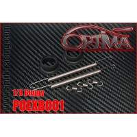 OPTIMA Kit Réparation Échappement (2 Ressorts Longs, 3 Courts et 2 Joints)-POEXB001
