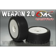 Pneus 6mik WEAPON 2.0 CS  sur ULTRA blanches - TU15CS