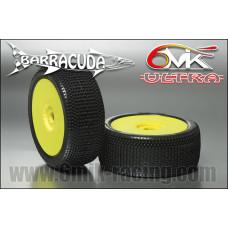 Pneus 6mik Barracuda Silver  Ultra jaunes : TUY14S