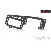 T-Work's Platine radio carbone pour Mp9 - TO209R