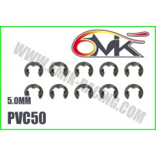 Circlips inox 5mm ( 10 ) - 6mik PVC50
