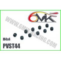 Vis Acier sans-tête M4x4 (10 pcs) - PVST44