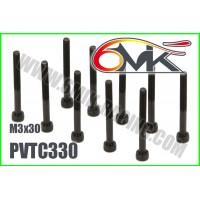 Vis Acier Tête Cylindrique M3x30 (10pcs) - PVTC330
