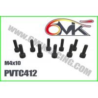 Vis Acier Tête Cylindrique M4x12 (10pcs) - PVTC412