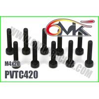 Vis Acier Tête Cylindrique M4x20 (10pcs) - PVTC420