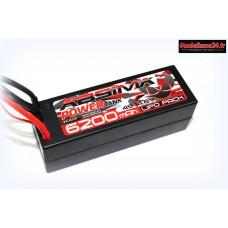 Batterie Power Tank Lipo 14.8V-60C  6200mAh HC (deans) : 4140035