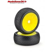 """Paire de roues buggy  """"disc"""" jaune : m501"""