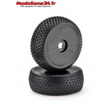 """Paire de roues buggy  """"disc"""" noir : m502"""