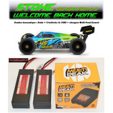 "Absima 1/8 Buggy ""STOKE Gen2.0"" 4S RTR version combo eco"