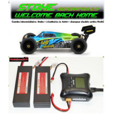 "Absima 1/8 Buggy ""STOKE Gen2.0"" 4S RTR version combo intermédiaire"