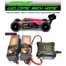 "Absima 1/8 Buggy ""STOKE Gen2.0"" 6S RTR version combo intermédiaire"