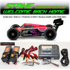 "Absima 1/8 Buggy ""STOKE Gen2.0"" 6S RTR version combo luxe"