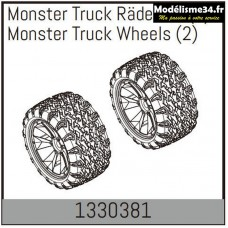 Absima Monster truck roues (2)  : 1330381