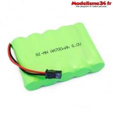Batterie Ni-MH 6.0V 700mAh CR4/PR4/CR6/Raid - FTK-MT1802016