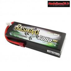 Batterie Gens Ace Pack Lipo 3S-11.4V-50C-6000 prise deans : GE3-6000-3D
