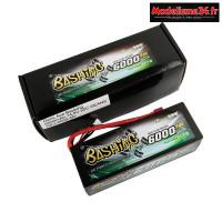 Batterie Gens Ace Pack Lipo 4S-14.8V-50C-6000 prise deans : GE3-6000-4D