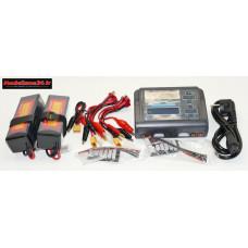 Combo chargeur C240 240w double sortie avec 2 batteries 3S 5000 : m1062