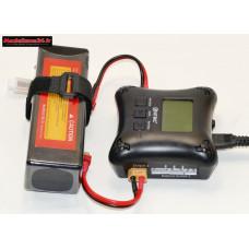 Combo chargeur H4AC double sortie avec batterie 3S 5000 : m1067
