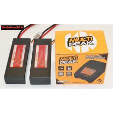 Combo chargeur Multipeak Konect avec 2 batteries 2S 5200 : m1070
