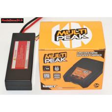Combo chargeur Multipeak Konect avec batterie 2S 5200 : m1072