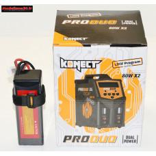 Combo chargeur Pro Duo Konect + batterie 3S 5000 : m1079