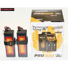 Combo chargeur Pro Duo Konect + 2 batteries 3S 5000 : m1080