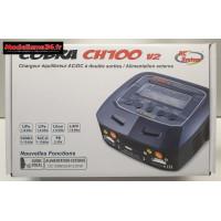 Chargeur Cobra CH100 V2 - AC/DC 2 sorties : CH100v2