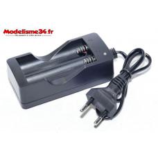 Chargeur batteries Li-Ion 3,7v : m1180
